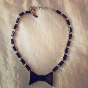 Kate Spade Black Tie Necklace